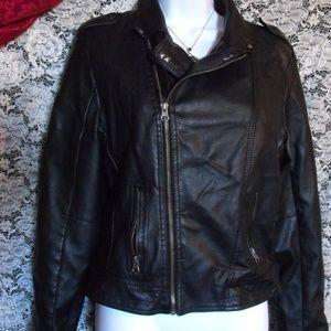 """Women's Deb """"Motorcycle"""" Jacket Large"""